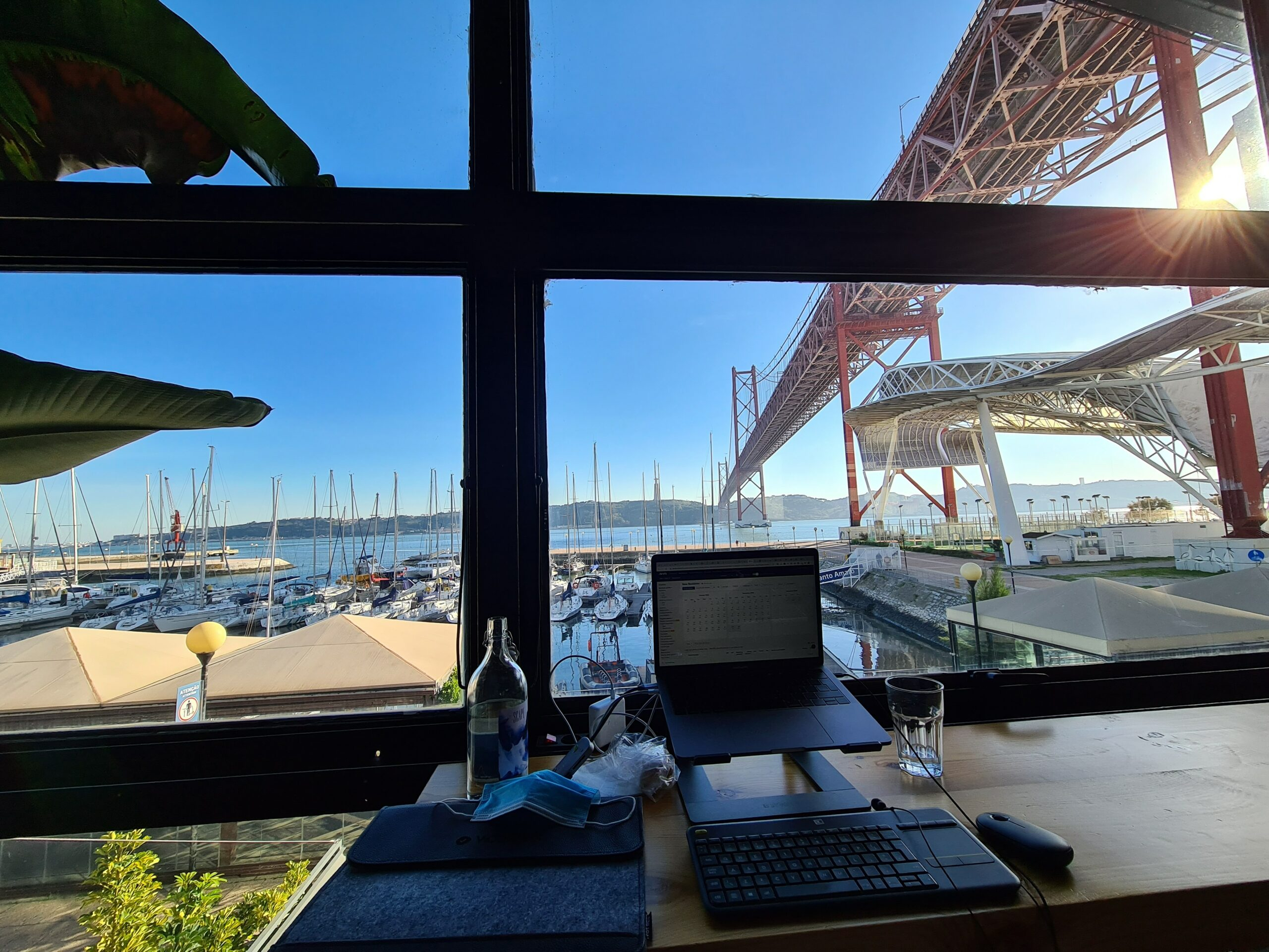Working from Lisbon
