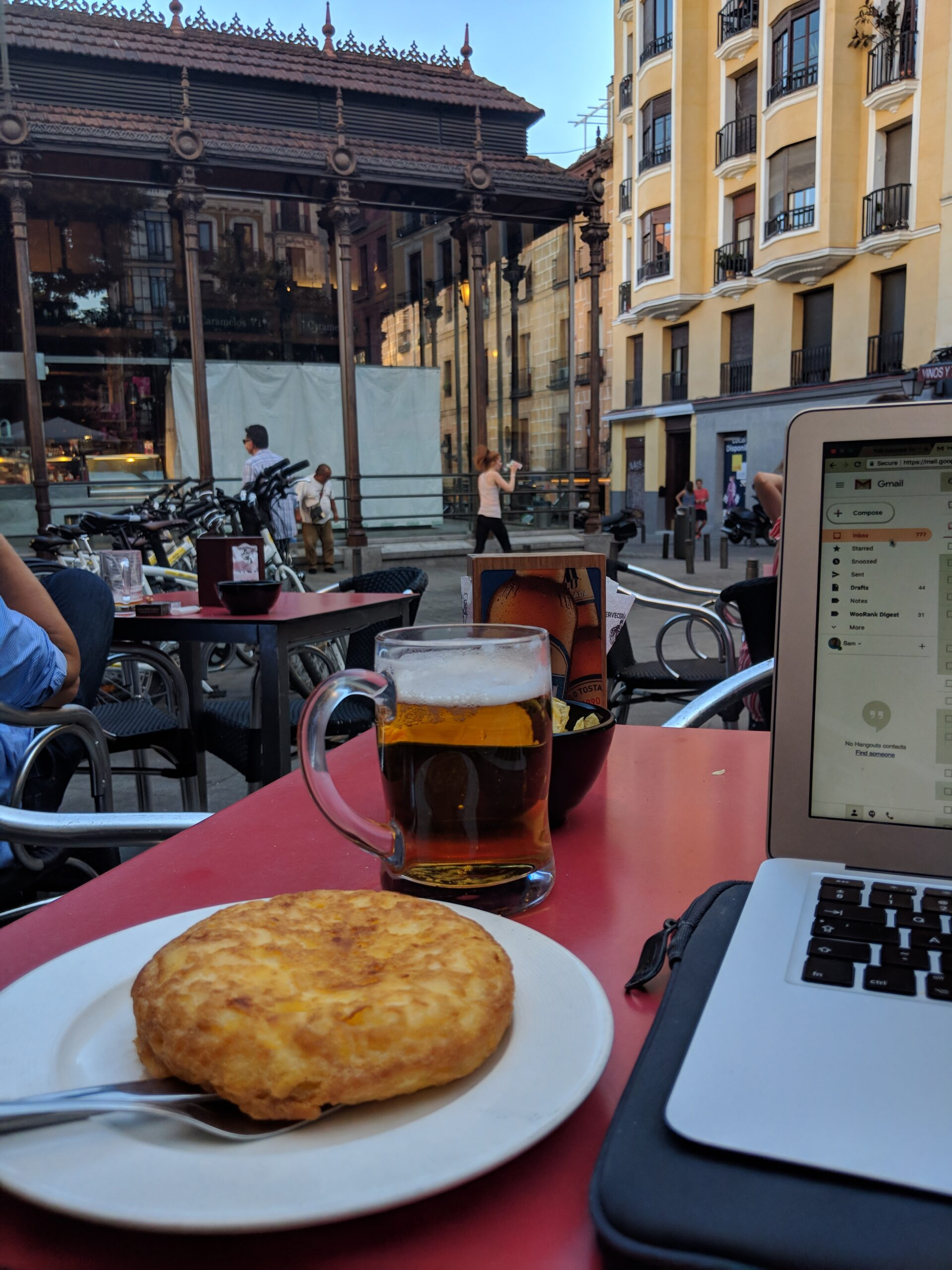 Working from Madrid